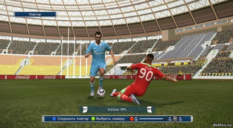 Скачать PES_2011_by_R. . Очередная серия футбольного симулятора Pro Evolut